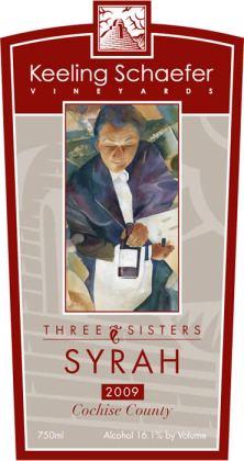 Keeling - Schaefer - Three Sisters Syrah - 2009